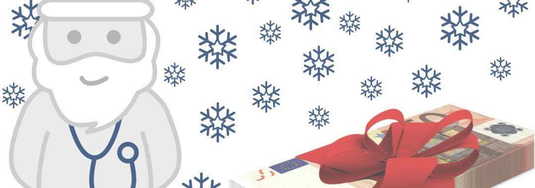 Weihnachtsgeld für Pflegekräfte in Zeitarbeit