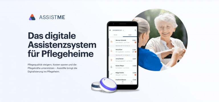 AssistMe Digitales Assistenzsystem für Pflegeheime